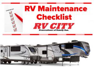RV Maintenance Tip Checklist