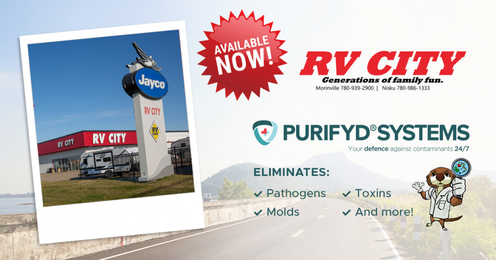 RV City is an approved PURIFYD® SYSTEMS dealer