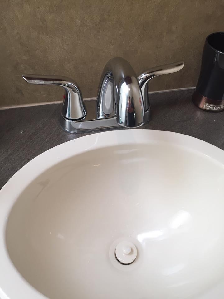 Mods - Bathroom Sink After