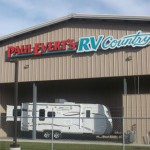 Flagstaff Location Paul Evert's RV Country Sign