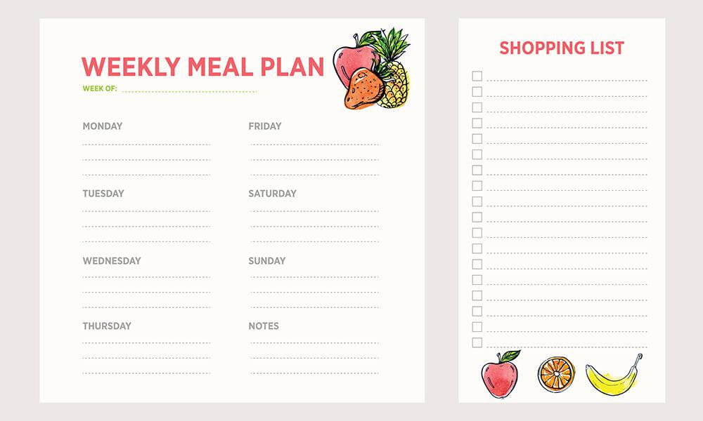 RV Meal Plan