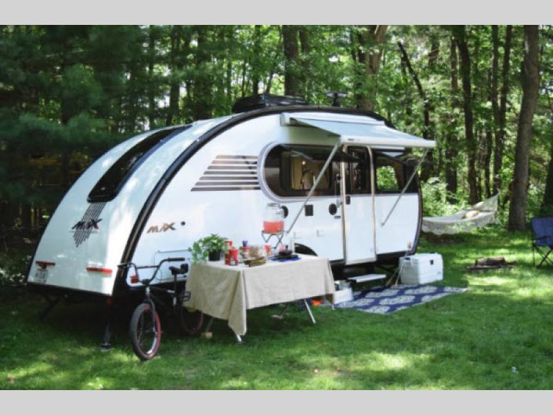 TEAR DROP TRAILER, LUXURY MODEL, smaller                         ones use a TENT TOO