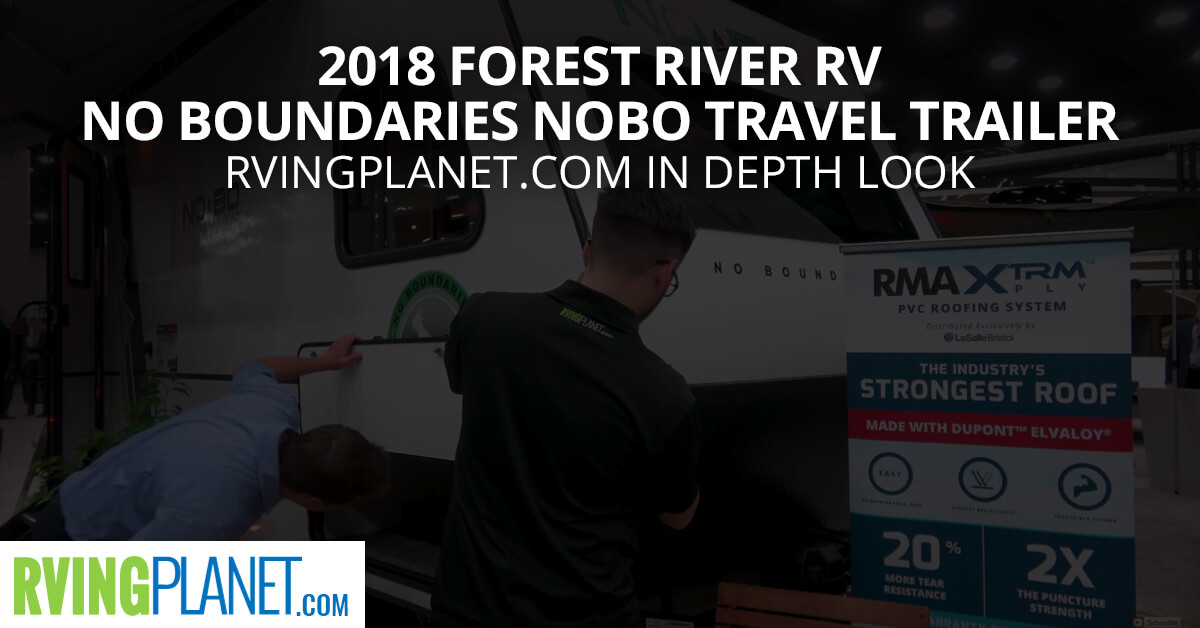 2018 Forest River RV No Boundaries NOBO Travel 2018 Forest River RV No Boundaries