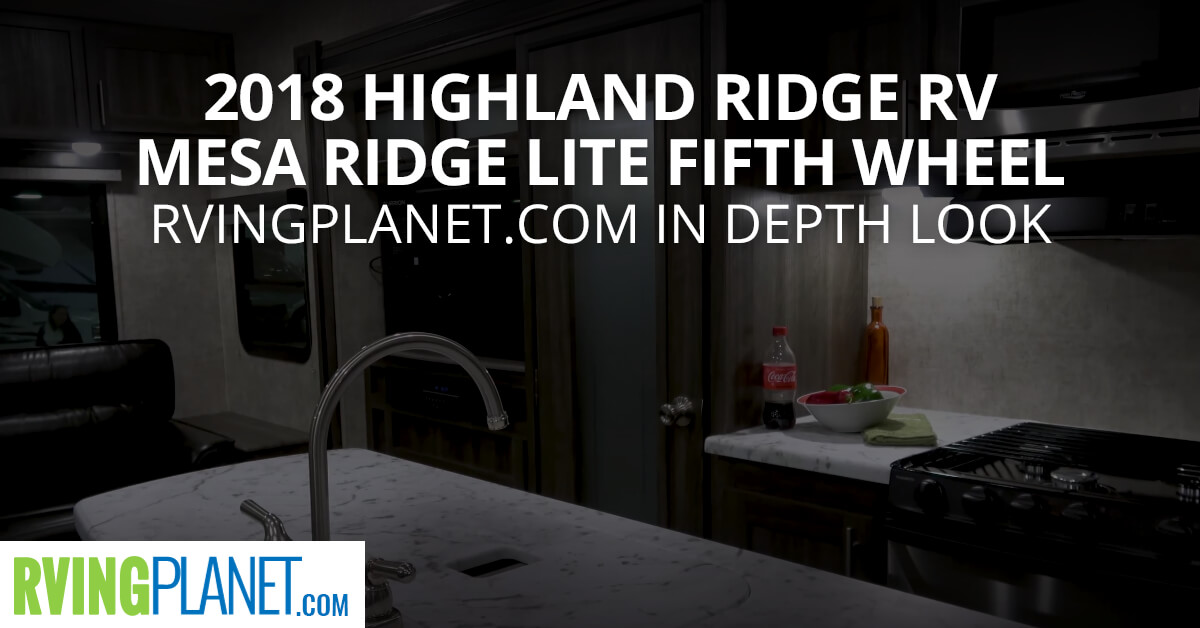 2018 Highland Ridge RV Mesa Ridge Lite Fifth Wheel