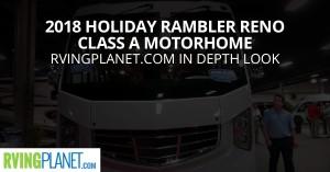2018 Holiday Rambler Reno Class A Motorhome