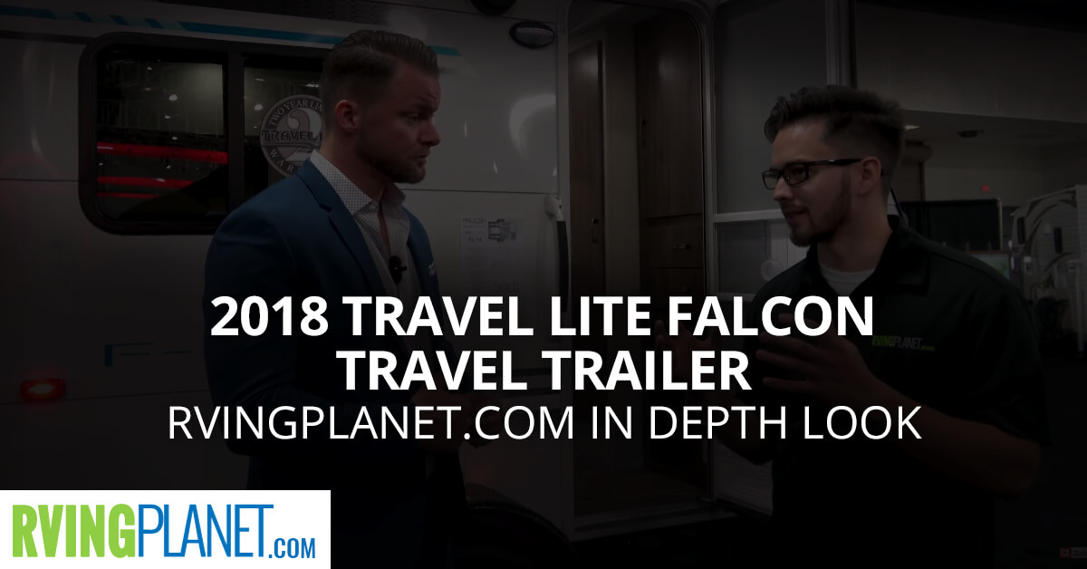 2018 Travel Lite Falcon Travel Trailer