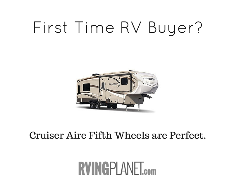 Cruiser Aire Fifth Wheels are Perfect