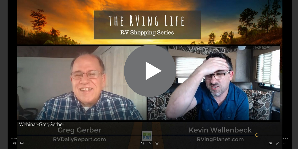 The RVing Life Show - Greg Gerber