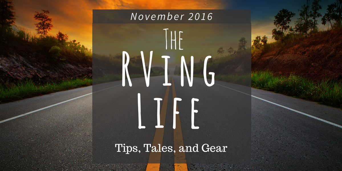 November The RVing Life Newsletter Blog Featured Image