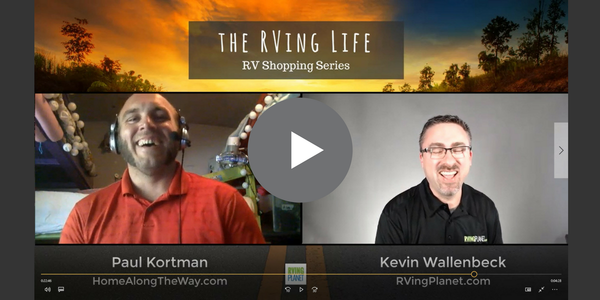 The RVing Life Show - Paul Kortman of Home Along The Way