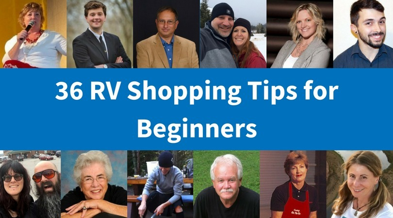 RV Shopping tips