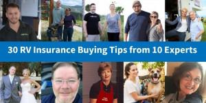 RV insurance Tips
