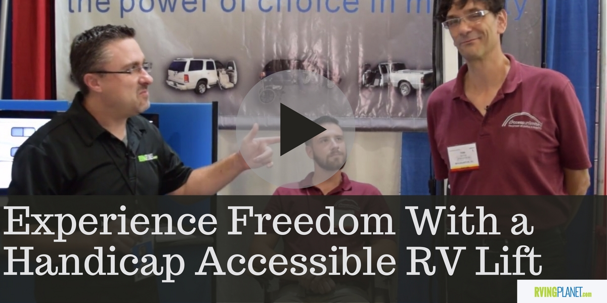 Experience Freedom With A Handicap Accessible Rv Lift