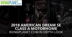 American Dream Class A Motorhome Diesel