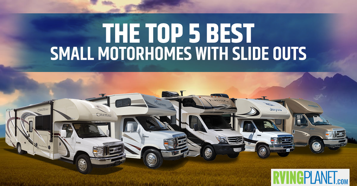 Top 5 Best Small Motorhomes with Slides