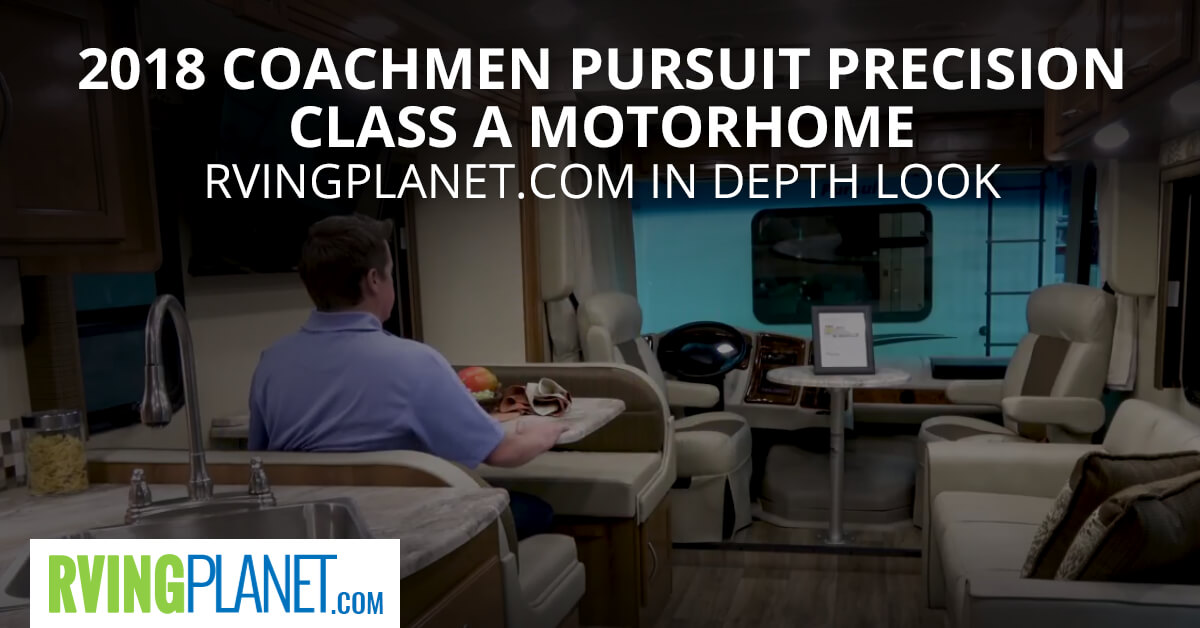 2018 Coachmen Pursuit Precision Class A Motorhome - RVingPlanet.com in Depth Look
