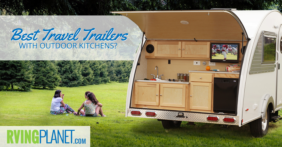 Travel Trailer With Outdoor Kitchen And Bunkhouse