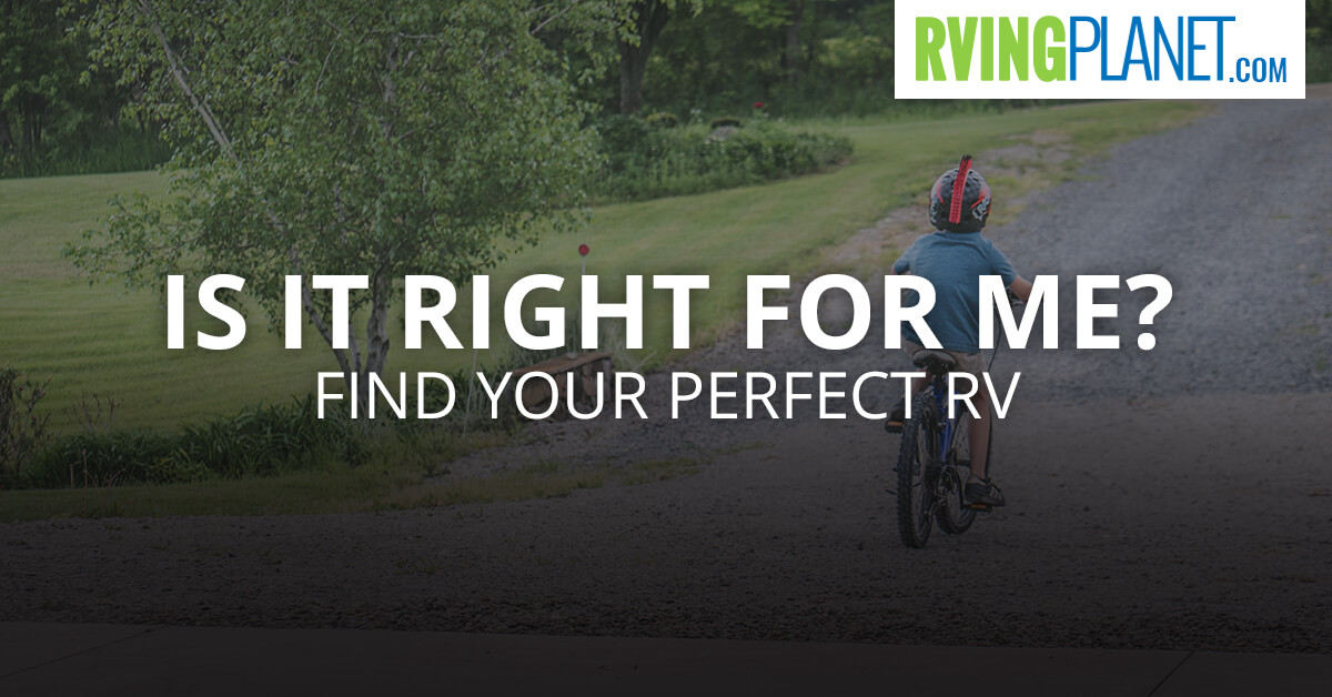 Find Your Perfect RV