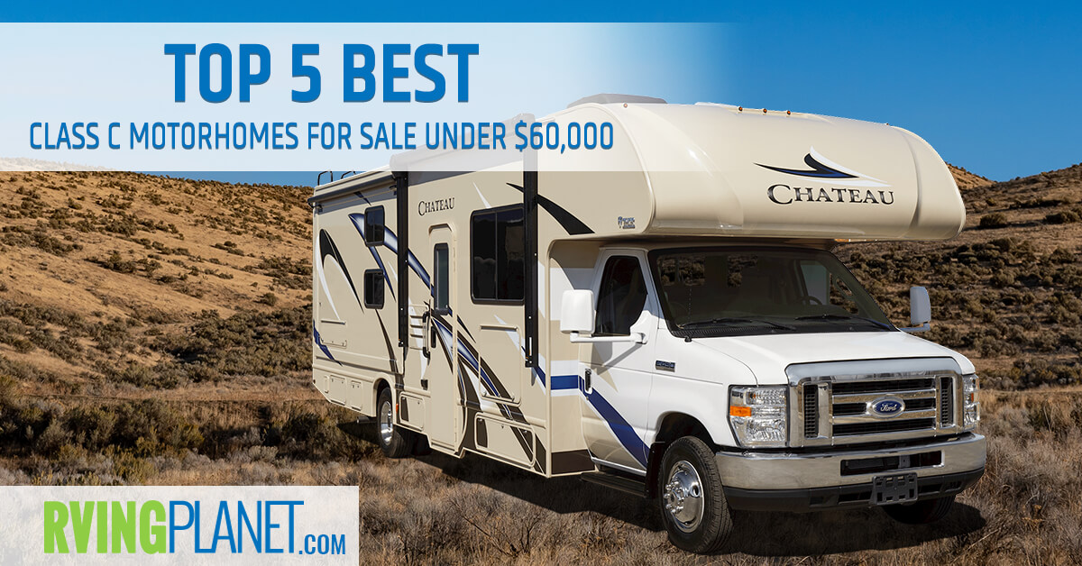 Top 5 Best Class C Motorhomes For Sale Under $60,000