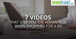 RV Shopping Videos
