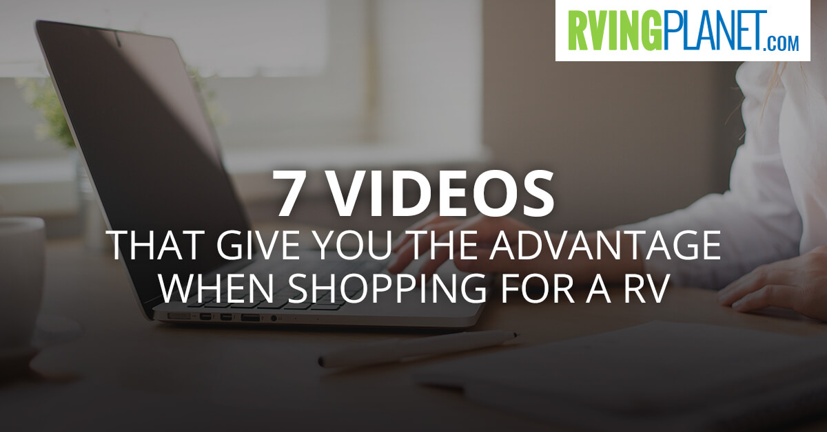 RV Shopping Videos