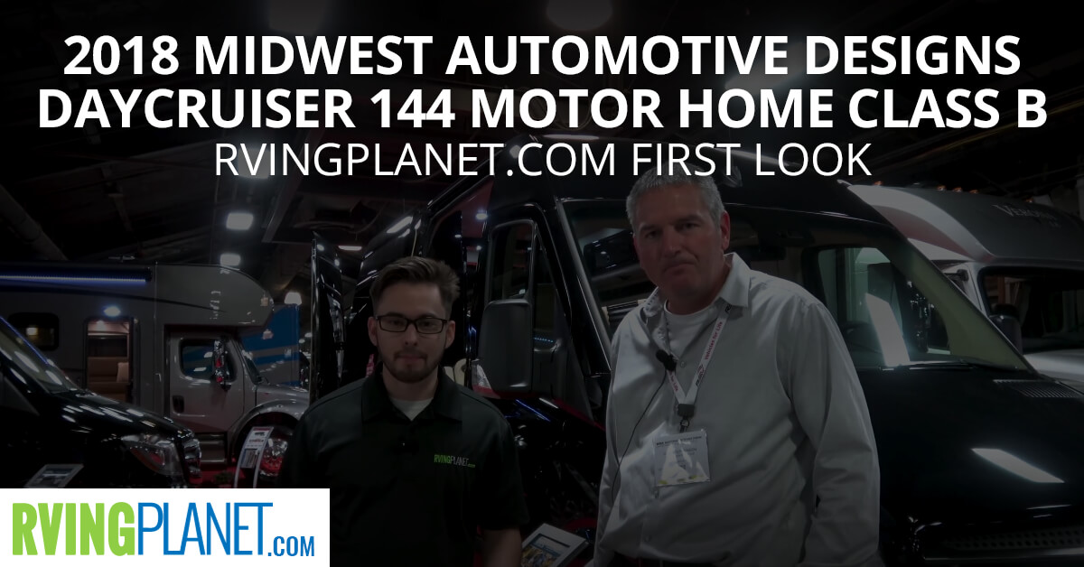 2018 Midwest Automotive Designs Daycruiser 144 Motor Home Class B - RVingPlanet.com in Depth Look