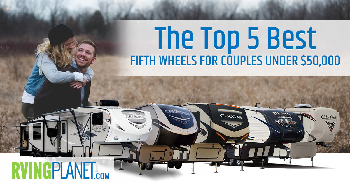 fifth wheels under 50,000