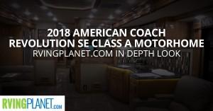 American Coach Revolution SE Class A Motorhome Diesel