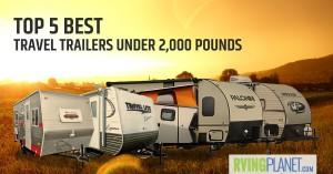 lightweight travel trailers