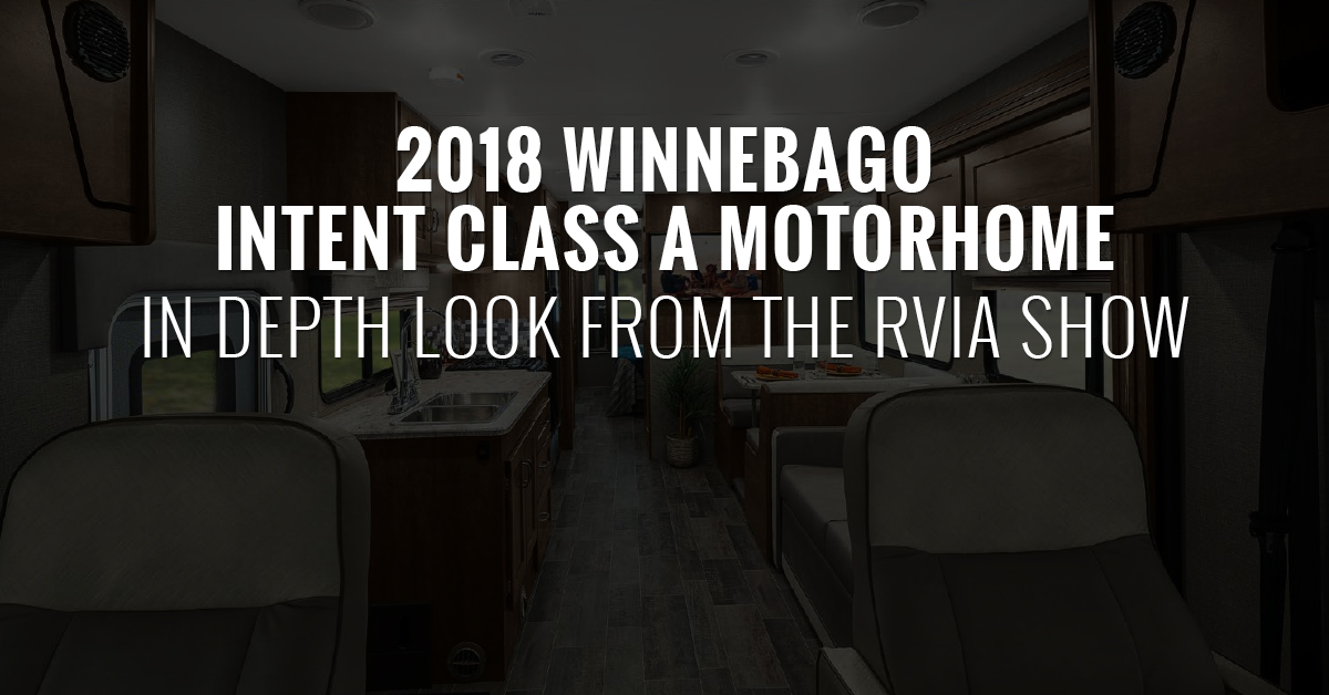 Winnebago Intent Class A Motorhome Gas