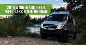 Winnebago Revel Class B Motorhome Diesel