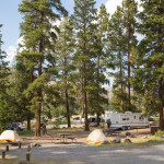 Yellowstone Tower Fall Campground