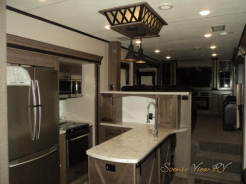 2018 KZ Durango Gold Fifth Wheel Kitchen