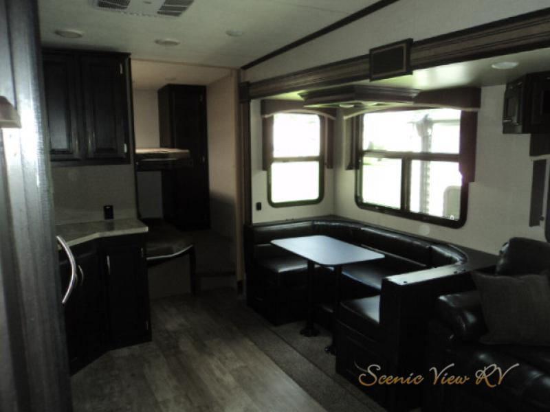 KZ Durango 1500 Bunks and Dinette