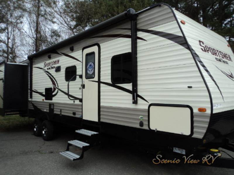 Scenic View KZ Sportsmen travel trailer