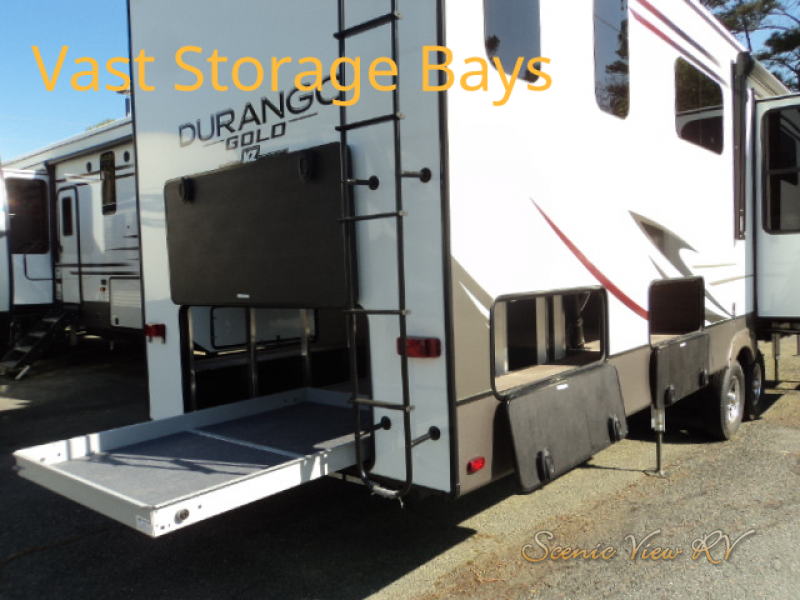 Fifth wheels review storage