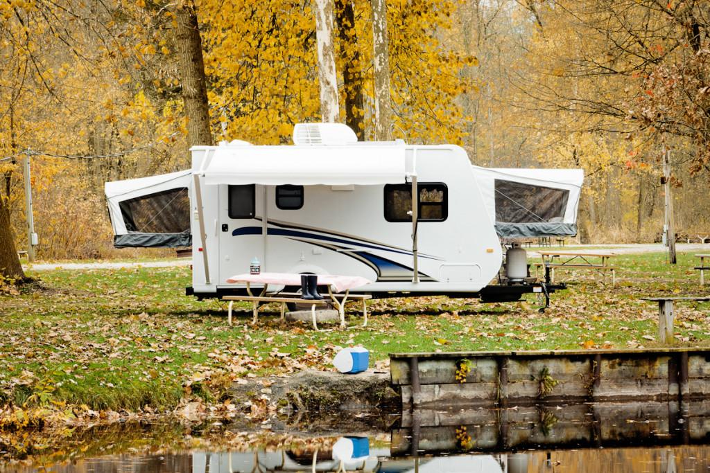 Fall camper