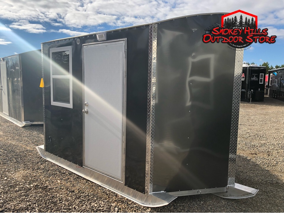 Skid Houses For Sale in Minnesota Aluma Lites at Smokey ... on storage shed foundation plans, trailer ice house plans, lift ice house plans, portable ice house plans,