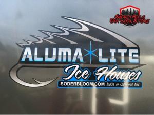 Aluma Lite fish house for sale in Mn