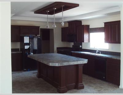 Landmark 4 Double Wide Home Kitchen