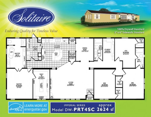 PRT4SC Double Wide Home