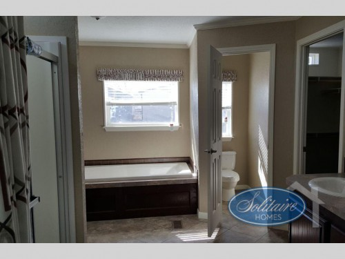 Manufactured Home Master Bath