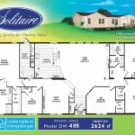 double wide floorplan 485