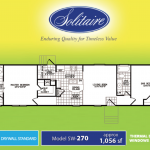 sw 270 solitaire homes floorplan