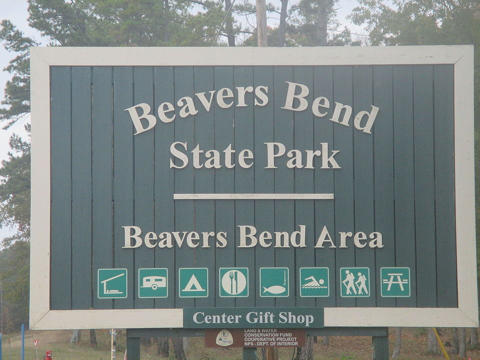 Beavers bend entrance