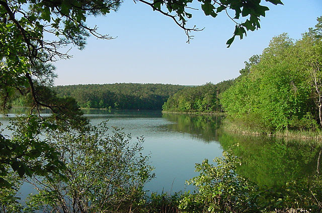 ouachita national forest lake
