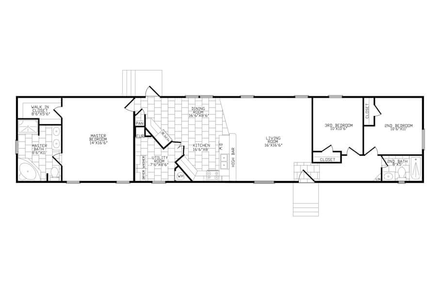 ack384 floorplan