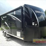Forest River Work And Play Toy Hauler Travel Trailer