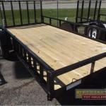 Big Tex Single Axle Utility Trailer Large