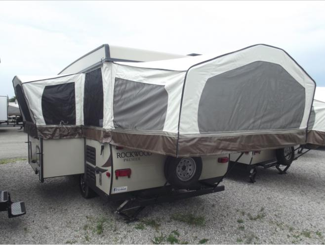 Forest River Rockwood Premier 5 Pop Up Camper Advantages
